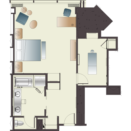 PALACE ROOM – King Of Queens House Floor Plan